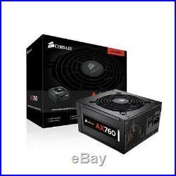 Fuente De Alimentacion Corsair Ax760 Modular 80 Plus Platinum Ultra Silenciosa
