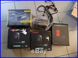 Für Bastler 5 x PC Netzteile defekt Corsair 3x Enermax Mars Gaming