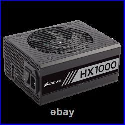 HX Series HX1000 1000 Watt 80+ Platinum Corsair Refurbished Fully Modular PSU
