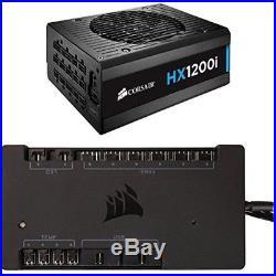 HXi Series, Power Supplies HX1200i, 1200 Watt (1200W), Fully Modular Power 80+