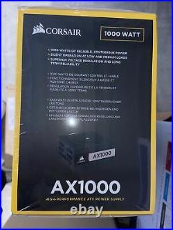 IN HANDCorsair AX Series AX1000 1000 Watt 80 PLUS Titanium ATX Modular PSU
