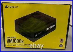 In hand Corsair Rmx Rm1000x 1000 Watt 80 Plus Gold Certified Power Supply New
