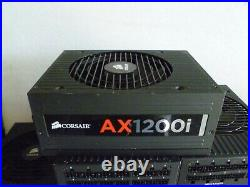 LOT OF 6 CORSAIR AX1200i 1200W 75-000784 Power Supply