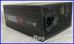 Mint Corsair AX1200i 1200 Watt 80+ Platinum Certified Fully Modular Power Supp