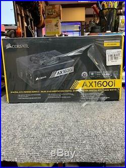NEW CORSAIR AXi Series AX1600i 1600 Watt 80+ Titanium Fully Modular Power Supply