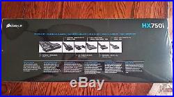 NEW CORSAIR HXi HX750i CP-9020072-NA 750W ATX12V / EPS12V 80 PLUS PLATINUM