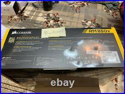 NEW CORSAIR RM850x FULLY MODULAR RMX 850 WATT WHITE POWER SUPPLY 80 PLUS GOLD