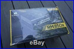 NEW CORSAIR RMX Series RM850x 850W 80+ Gold certified Fully Modular Power Supply