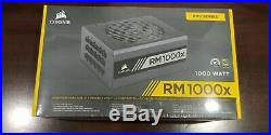 NEW- CORSAIR RMx Series 1000W ATX12V 2.4/EPS12V 2.92 80 Plus Gold Power