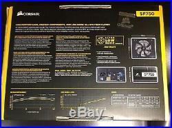 NEW CORSAIR SF Series SF750 750 Watt 80+ Platinum Fully Modular PSU (Tested)