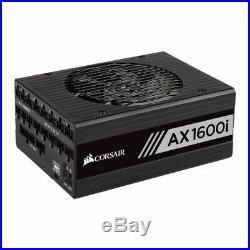 NEW! Corsair 1600W Axi Series Ax1600i Digital Psu Fluid Dynamic Fan Fully Modula