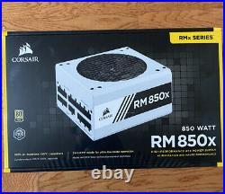 NEW Corsair RM850x 850W White Series 80 PLUS Gold Fully Modular PSU