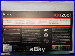 NEW IN BOX Corsair AX1200i Digital ATX 1204.8 Watt Power Supply SEALED BOX