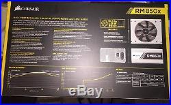 NEW WHITE + WHITE CORDS CORSAIR RM850x CP-9020156-NA 850W