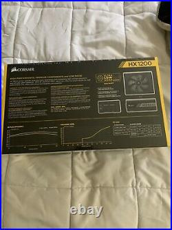 NEWCorsair HX1200 80 PLUS PLATINUM Certified 1200W Fully Modular Power Supply