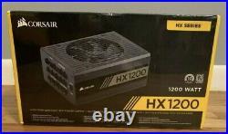 NEWCorsair HX120080 PLUS PLATINUM Certified 1200W Fully Modular Power Supply