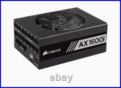 NEWithUNOPENED Corsair AX1600i Titanium ATX Fully Mod Power Supply