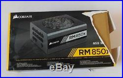 NIB CORSAIR RM850X RMx Series 850W Watt 80 + Plus Gold Certified Power Supply
