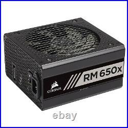 Neu Corsair RMX Series RM650x 650W Netzteil 80 Plus Gold