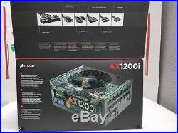 New Corsair AX1200i 1200W 80Plus PLATINUM Modular SLI/Crossfire ATX Power Supply