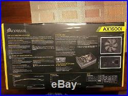 New Corsair AX1600I Fully Modular Power Supply. Titanium 1600W