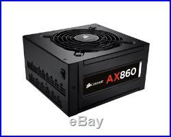 New Corsair Ax860 80 Plus Platinum Modular Power Supply Pc Components Psu