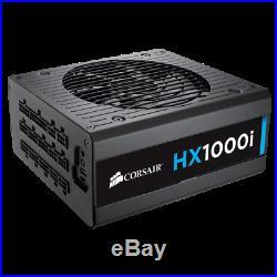 New Corsair HX1000i Performance ATX Power Supply 1000 Watt 80 Plus PLATINUM PSU