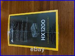 New Corsair HX1200 1200W 80 Plus Platinum Certified Fully Modular Power Supply