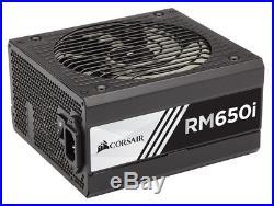 New Corsair RM650i 650W ATX Black power supply unit
