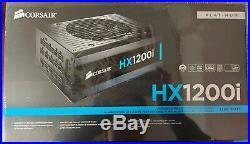 New Sealed Corsair HX1200i 1200W 80Plus Platinum Modular PSU iCue support