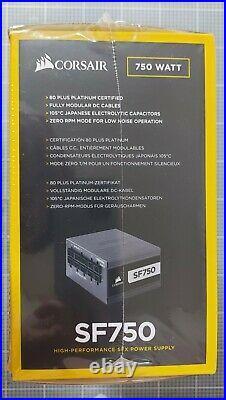 New & Sealed Corsair SF750 modular PSU 750W 80PLUS Platinum SFX Power Supply