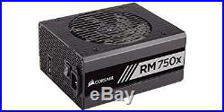 RM750x Corsair RMx Series, RM750x, 750W, Fully Modular Power Supply, 80+ Gold C