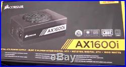 SEALED Corsair AX1600i 1600W ATX Titanium Modular Power Supply PSU CP-9020087-NA