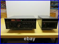 Ten Tec Corsair HF Ham Radio Transceiver and Power Supply