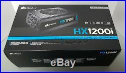 Used Corsair HXi Series HX1200i 1200W Platinum Fully Modular Power Supply PSU